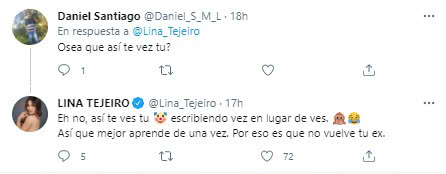 Tuit Lina Payasos 2
