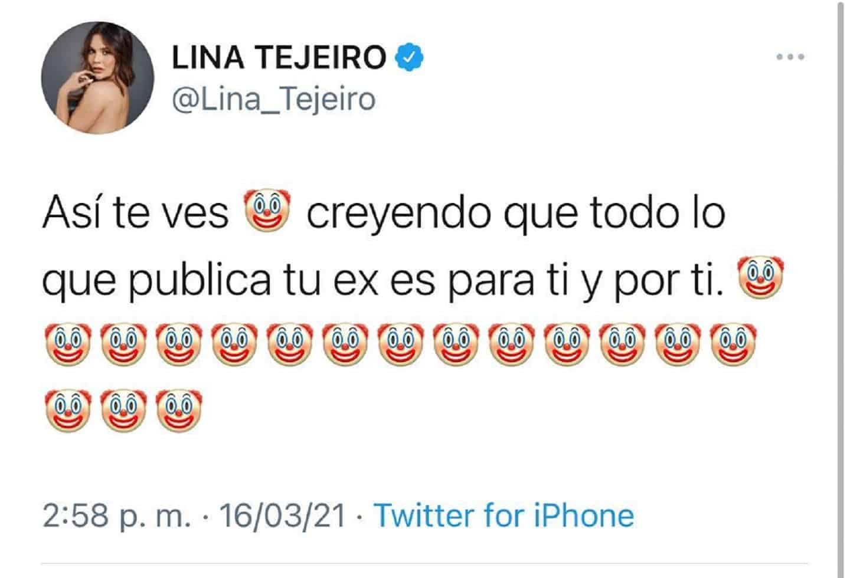 Tuit Lina Payasos 3.