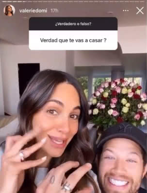 Valerie Dominguez se casó 1