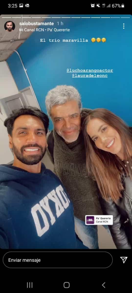 Foto Laura, Salomón y Luis Eduardo