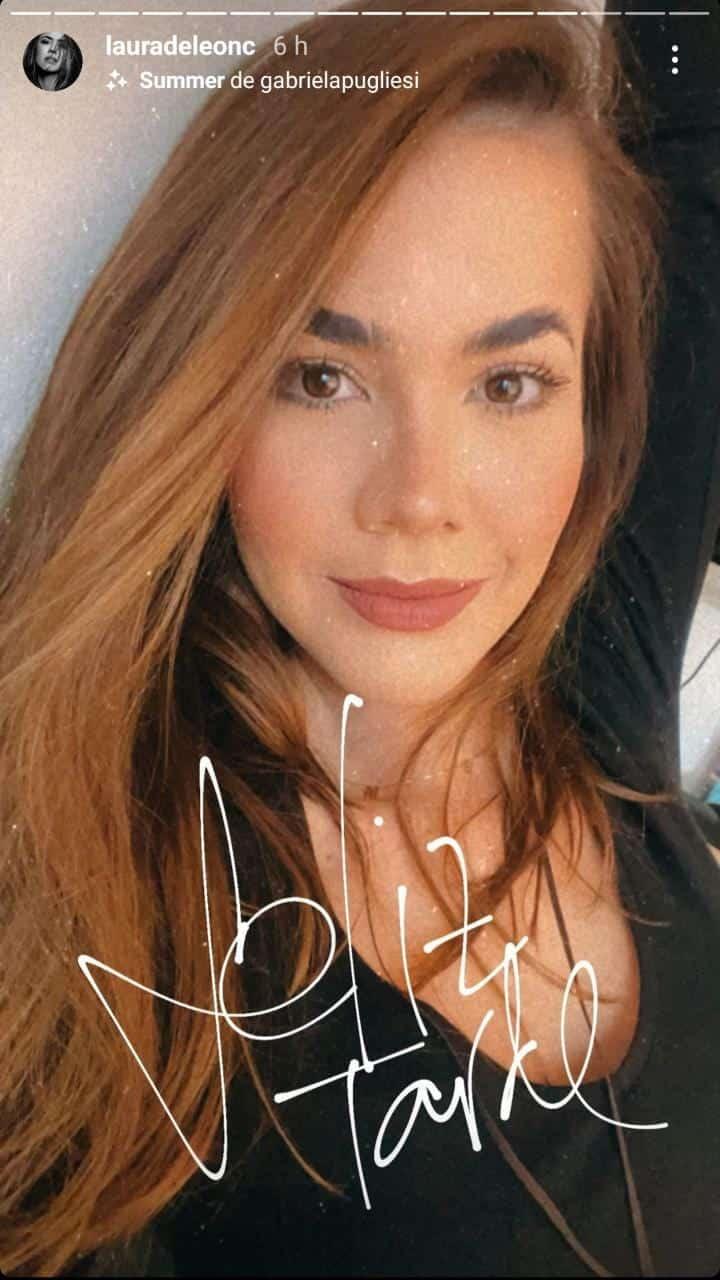 Laura de León cambio de look 2