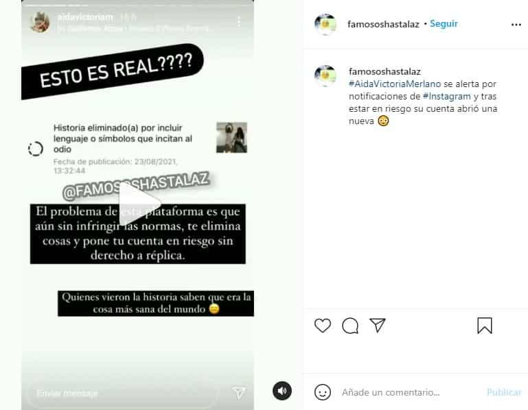 aida victoria merlano sobre instagram