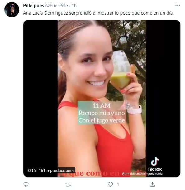 Ana Lucía Domínguez revela cuál es su dieta para mantener el cuerpo tonificado