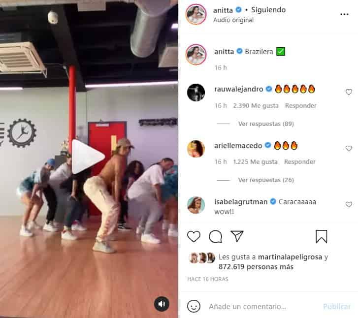 anitta bailando brazilera