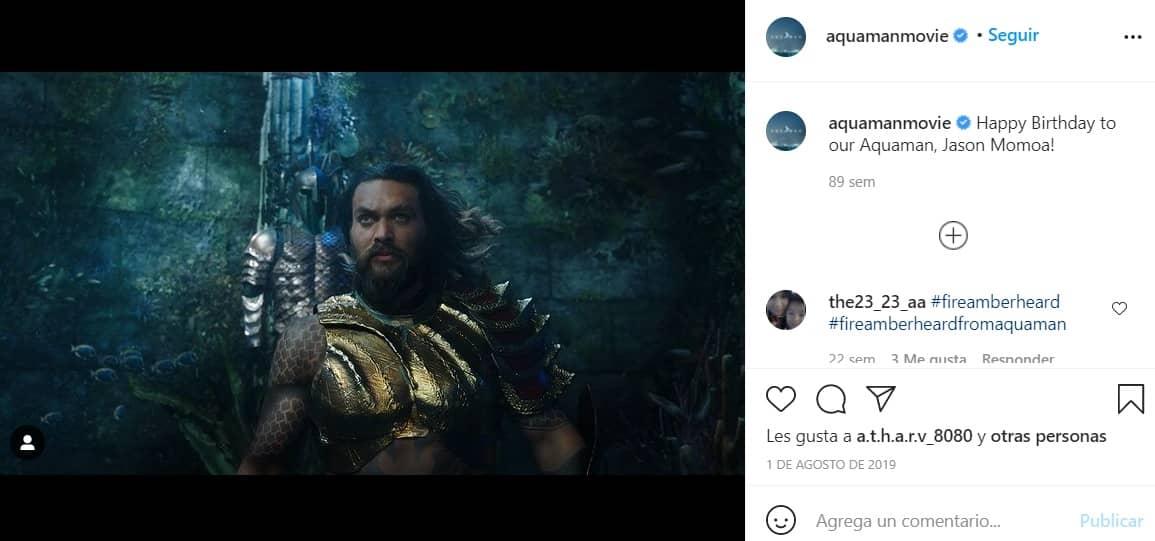 Aquaman 2 estará en cines en diciembre del 2022