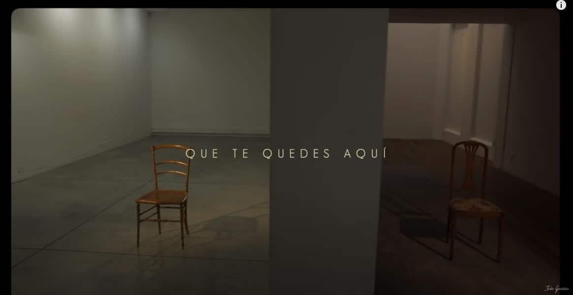 Video 'Que te quedes aquí'
