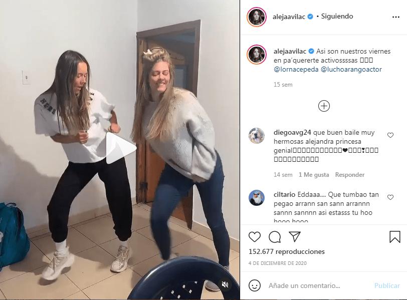 Baile Lorna y Alejandra
