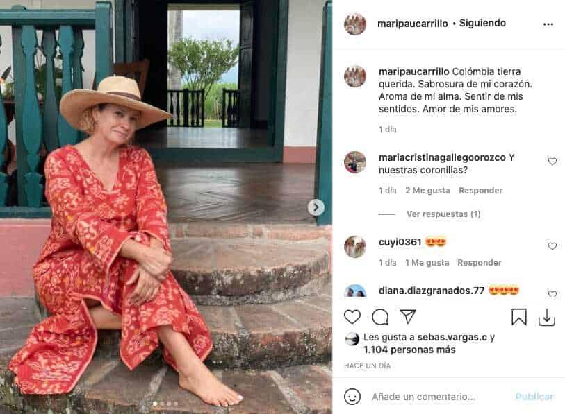 Mamá de Taliana Vargas descresta con su belleza física