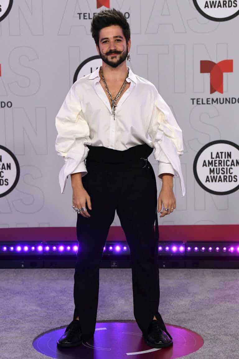 Camilo Echeverry en los Latin AMAS 2021