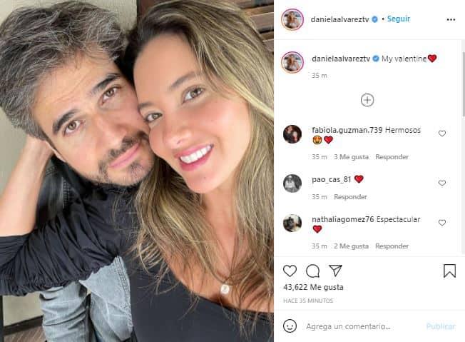 Daniella Álvarez revela romántica foto con Daniel Arenas