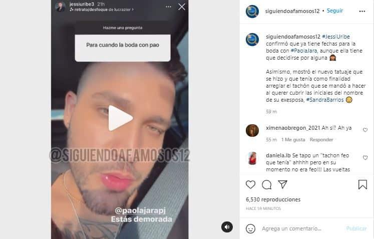 Jessi Uribe ya le dio fechas de matrimonio a Paola, pero ella aún no se decide