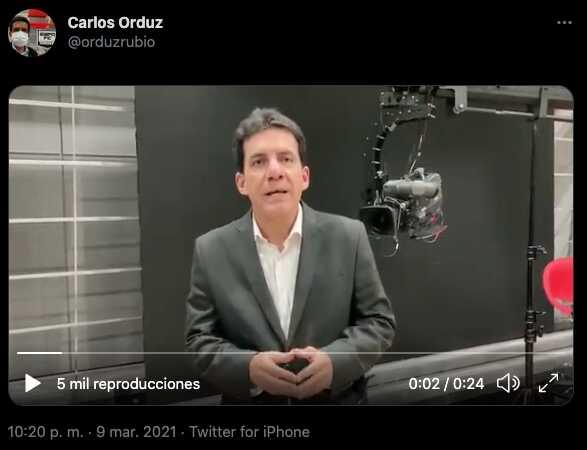 Carlos Orduz habla tras el accidente que sufrió en vivo