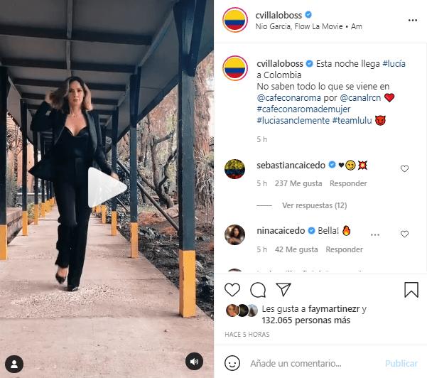 Carmen Villalobos video Lucía