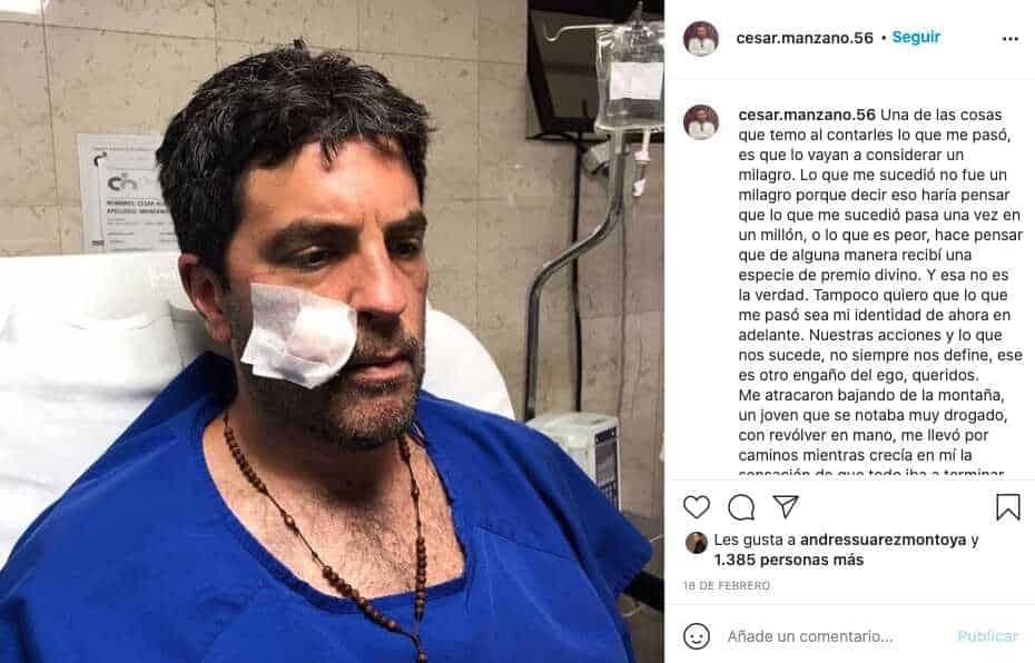 Actor de Enfermeras relata el crudo momento que vivió en un robo