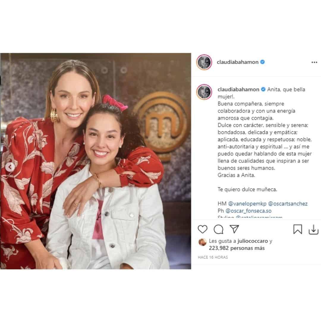 Claudia Bahamón y Ana María Estupiñán