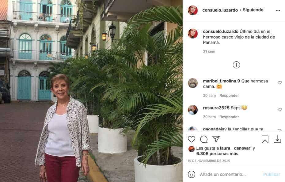 Consuelo Luzardo, actriz de La Nieta Elegida