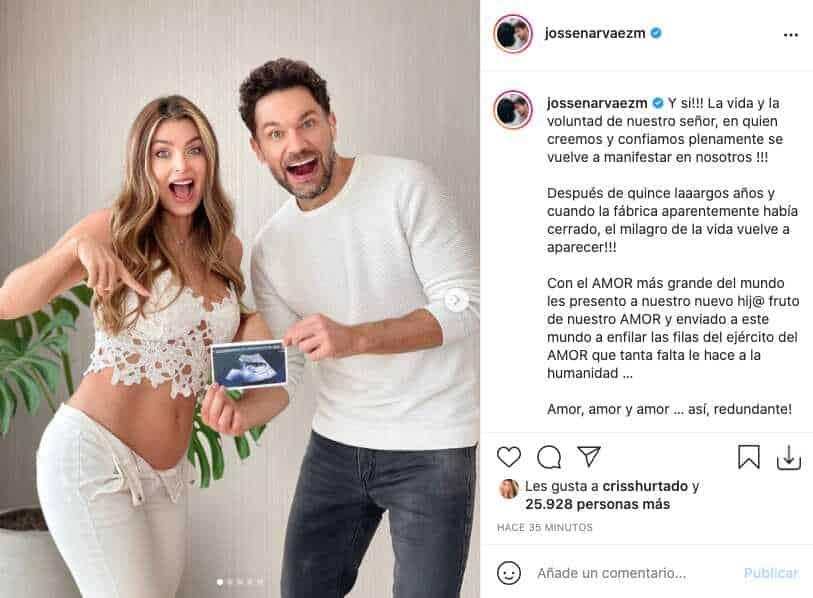 Cristina Hurtado está embarazada; con emotivo video le contó a fans