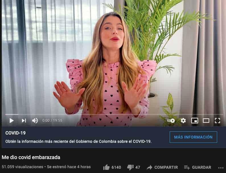 Cristina Hurtado hizo una dura confesión tras revelar que tuvo COVID-19