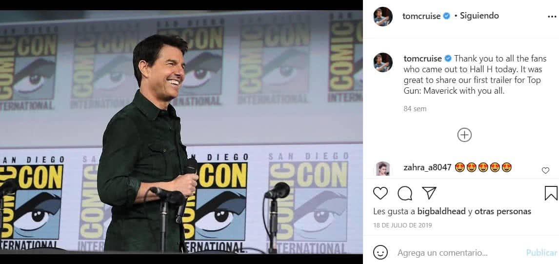 Tom Cruise estaría saliendo con una mujer mucho más joven.