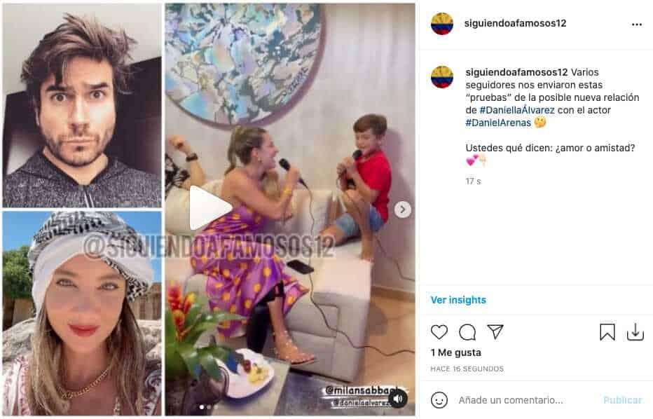 "Daniella Álvarez y Daniel Arenas serían novios por estas ""pruebas"""