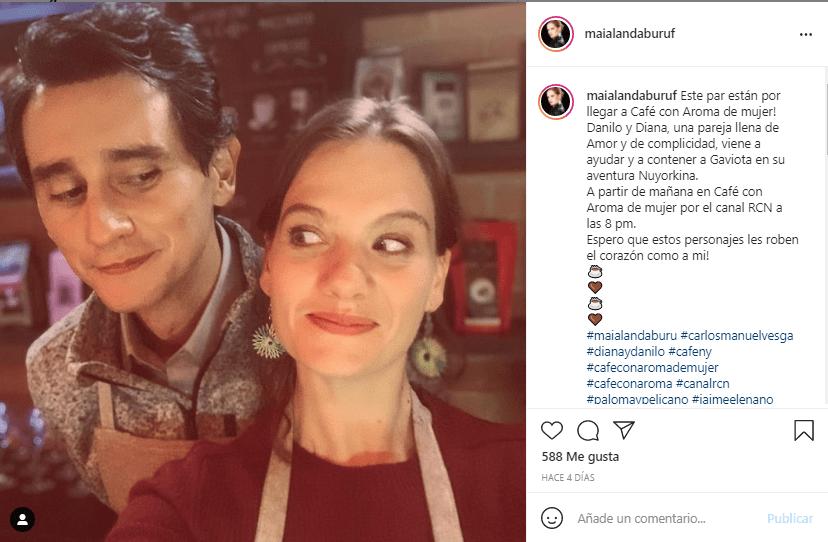 Diana Café con aroma de mujer producción
