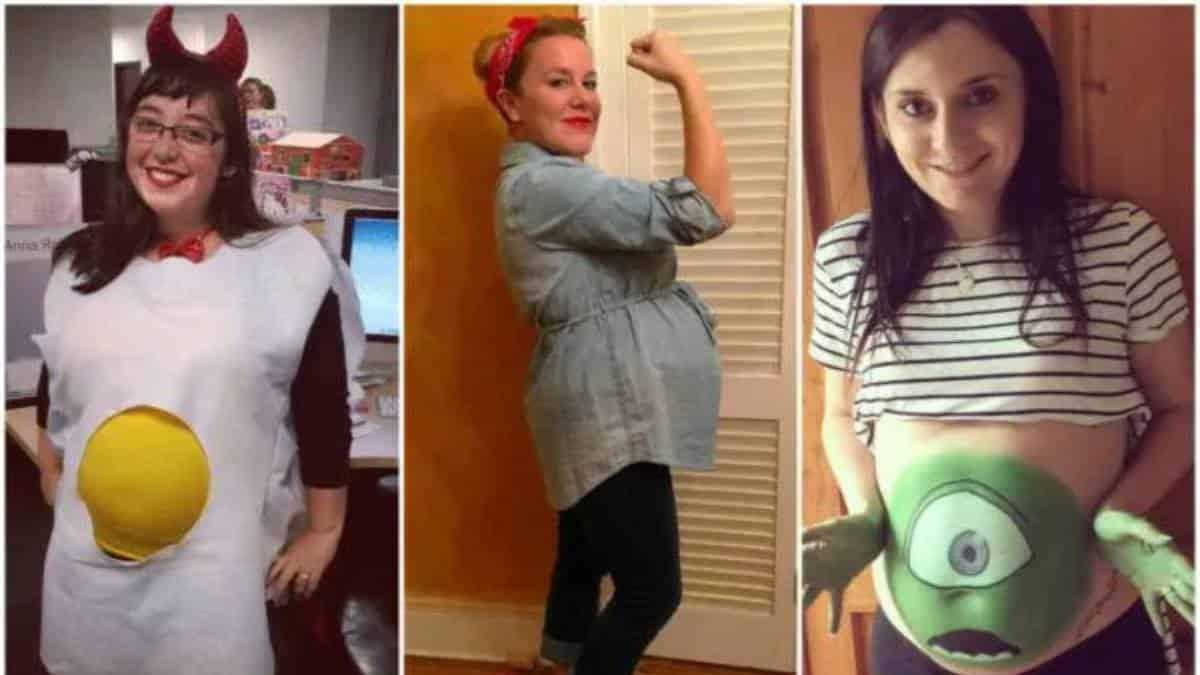Los mejores disfraces de Halloween para embarazadas en este 2021/ Modaellas
