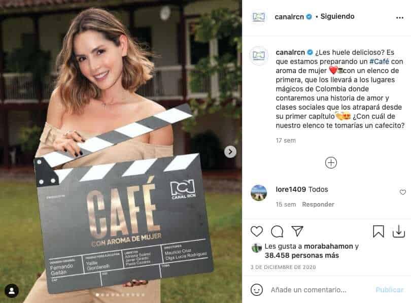 Con un nuevo sabor, 'Café, con aroma de mujer' llegará muy pronto a RCN
