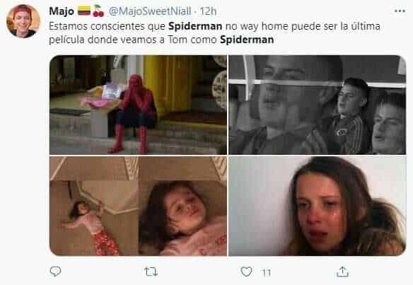 Tom Holland en la última película de Spider-Man 3