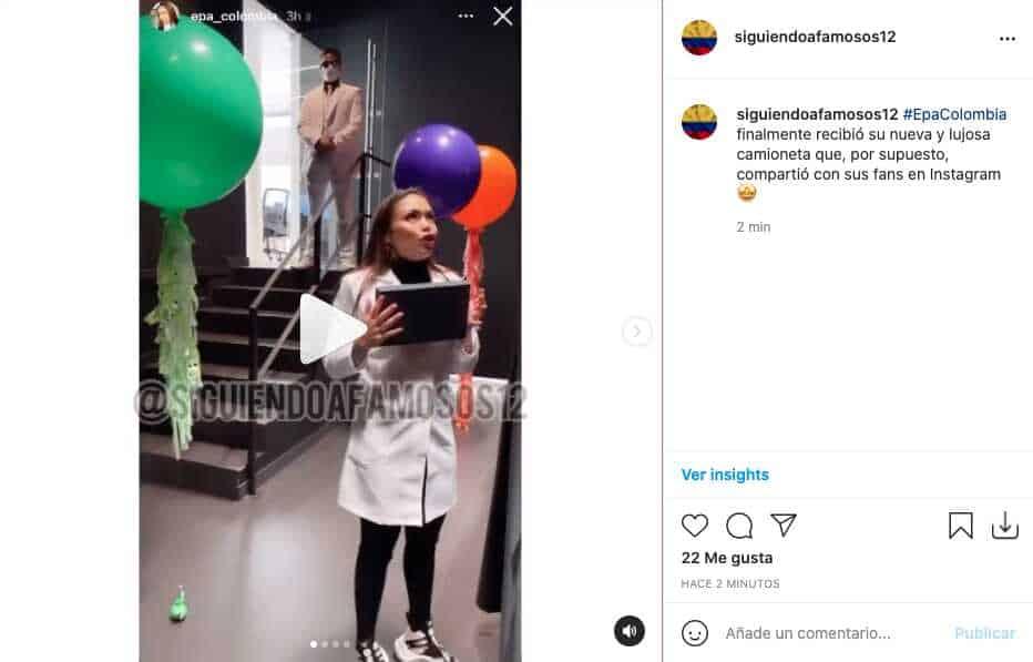 Qué camioneta, Epa Colombia finalmente estrenó lujosa camioneta