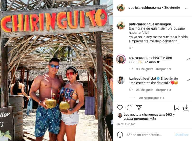 Exesposa de Jhon Álex Castaño presumió su nuevo y joven novio