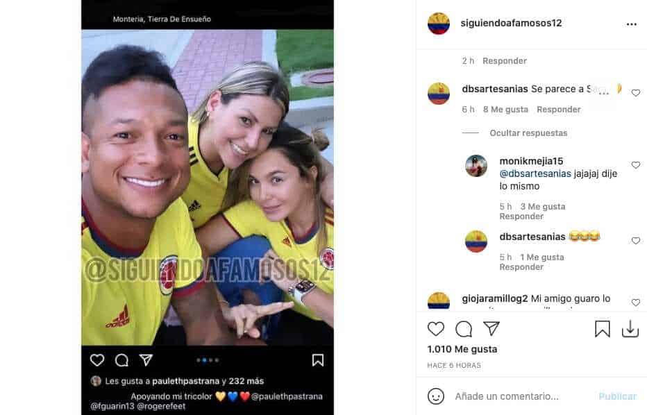 Fredy Guarín reaparece en redes con fotografía junto a su novia