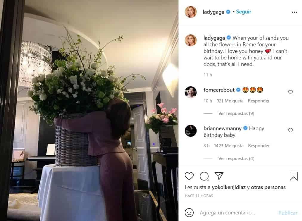 Lady Gaga mantiene una relación con Michael Polansky