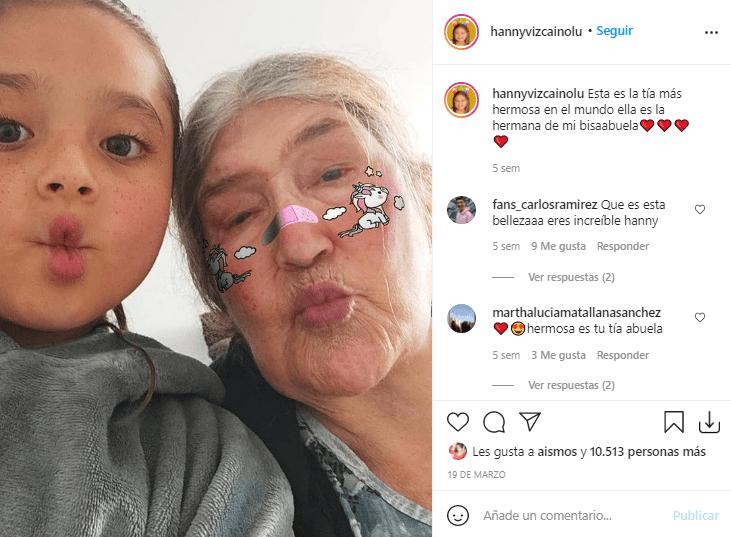 Hanny abuela baile