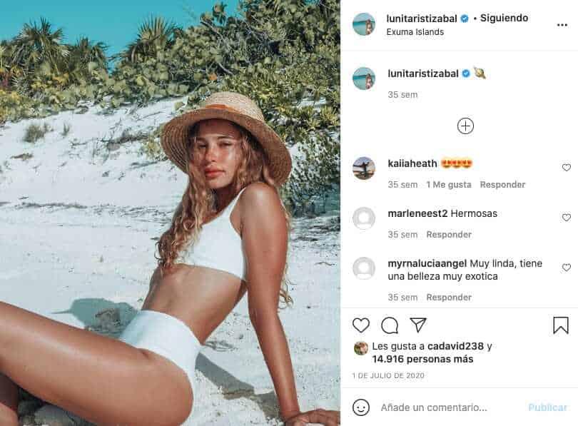 Hija de Juanes luce hermosa en bikini