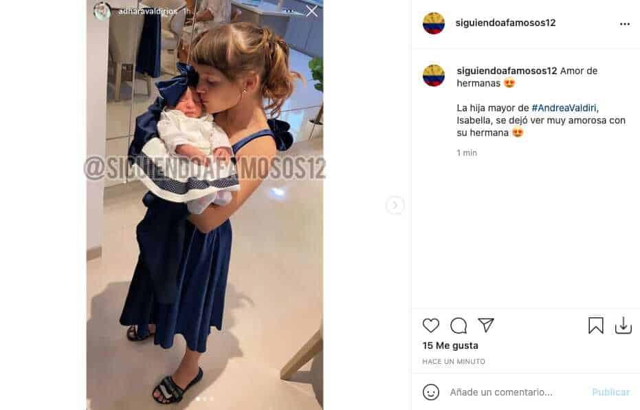 Hija mayor de Andrea Valdiri compartió adorables fotos junto a Adhara