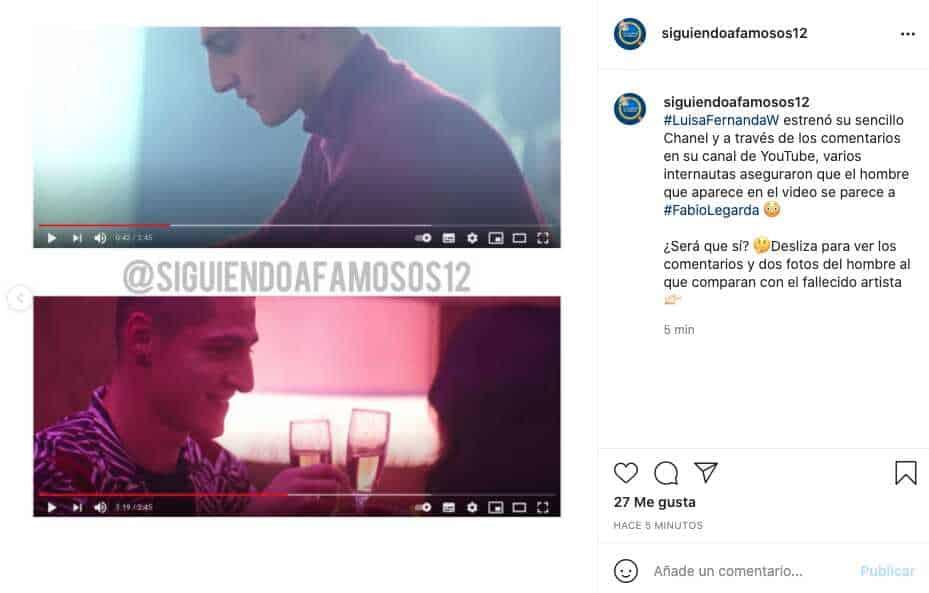 Hombre que aparece en video de Luisa Fernanda W es comparado con Legarda