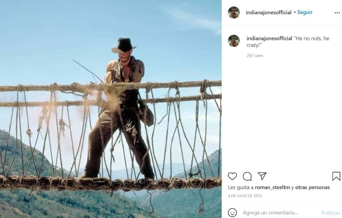 Harrison Ford ha protagonizado la saga de Indiana Jones