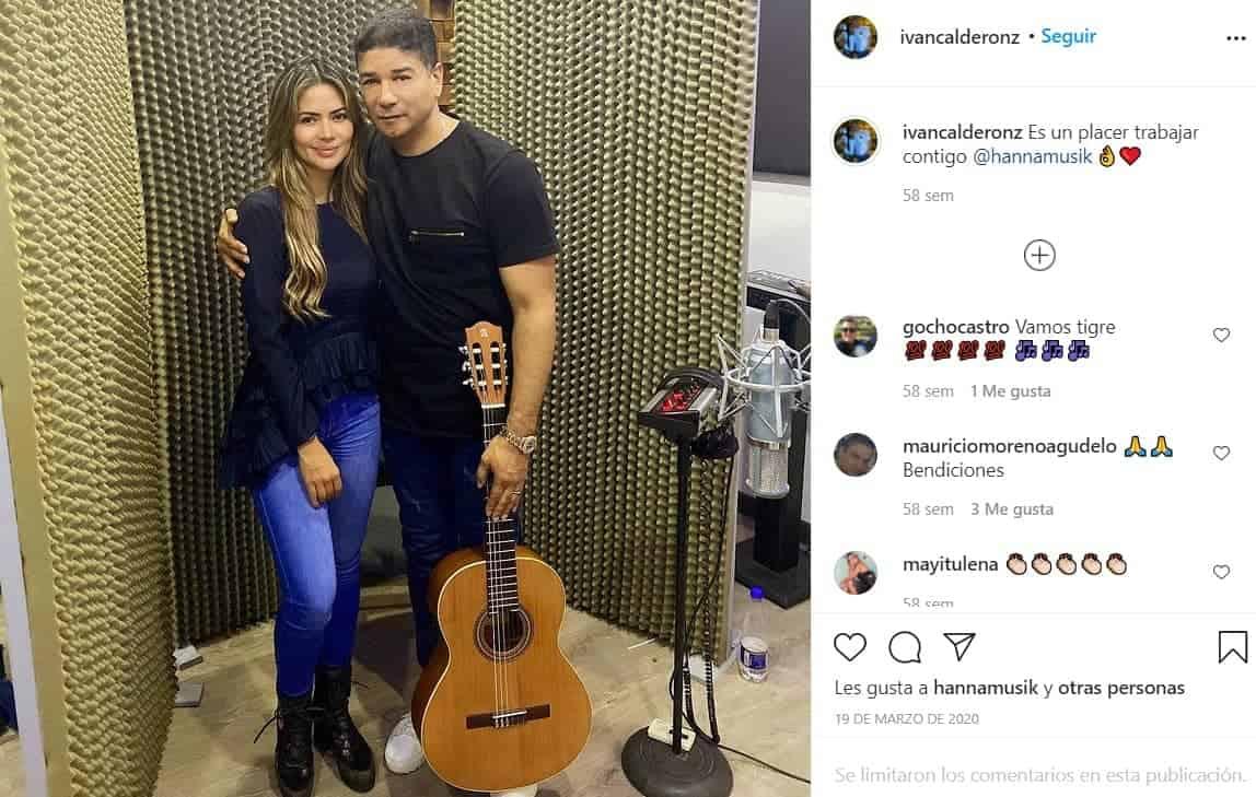 Iván Calderón y Hanna
