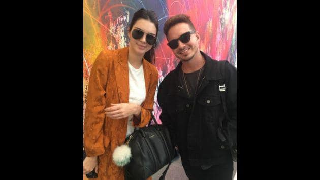 Balvin y Kendall