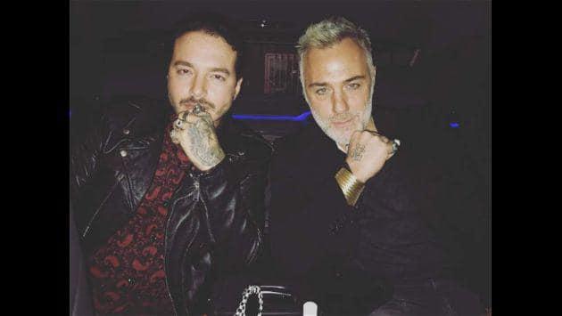 Balvin y Gianluca