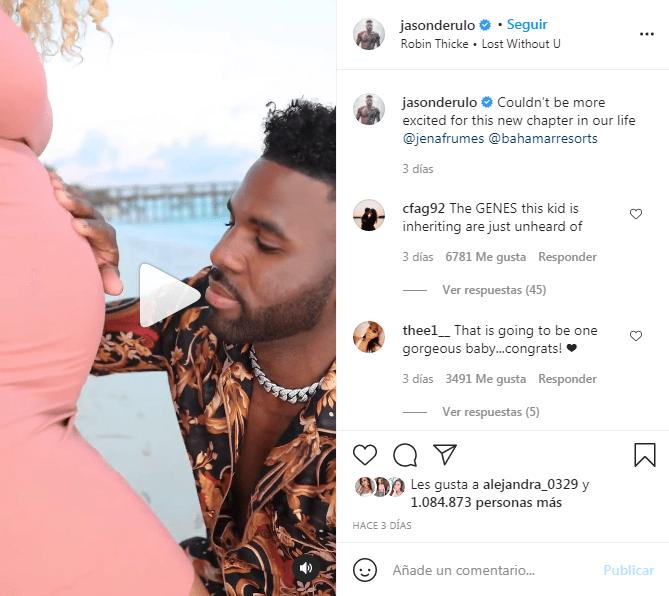 Jason Derulo será papá