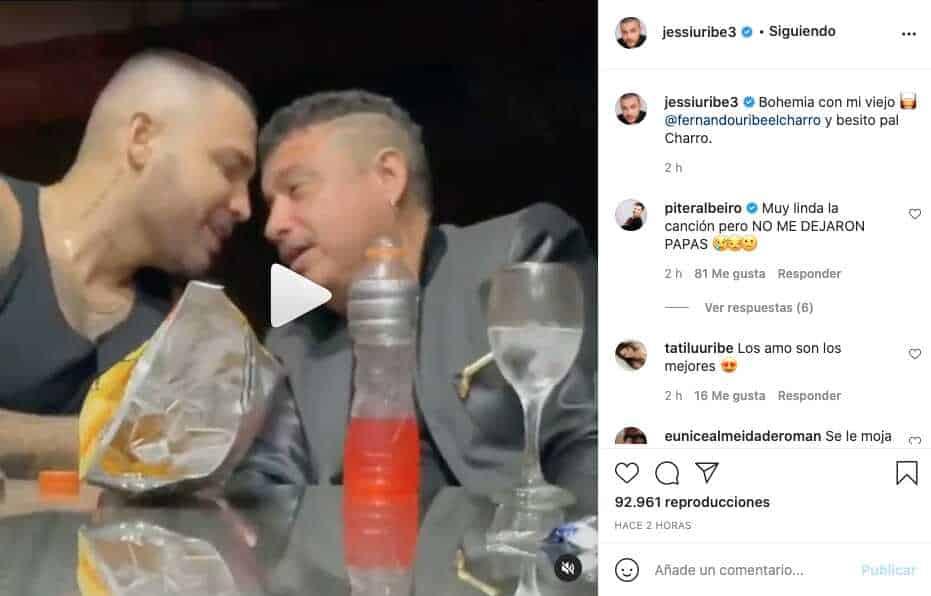 Qué talento, Jessi Uribe canta junto a su padre y sella el encuentro con tierno pico
