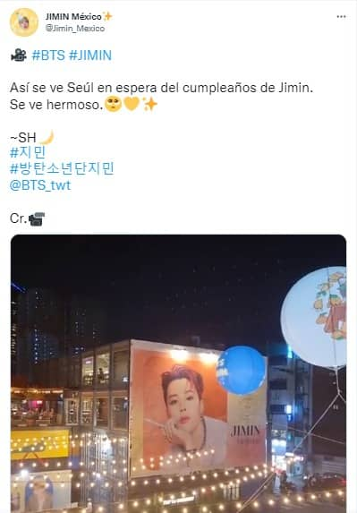 BTS: La celebración del cumpleaños de Jimin en Corea del Sur