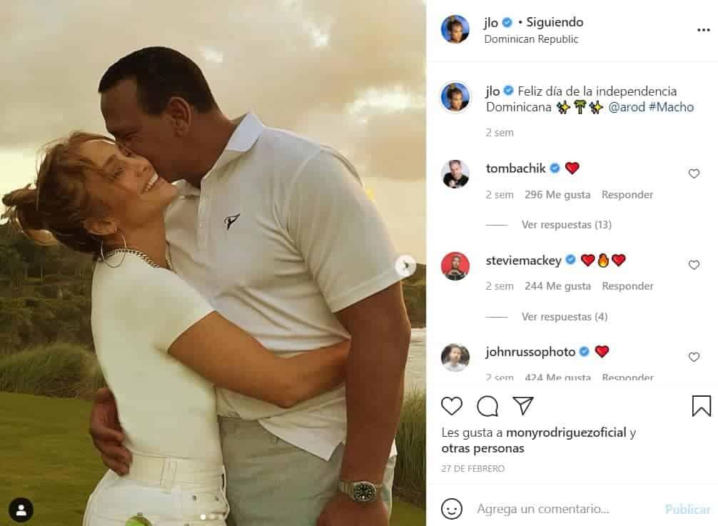 Jennifer López y Alex Rodríguez están juntos desde el 2017