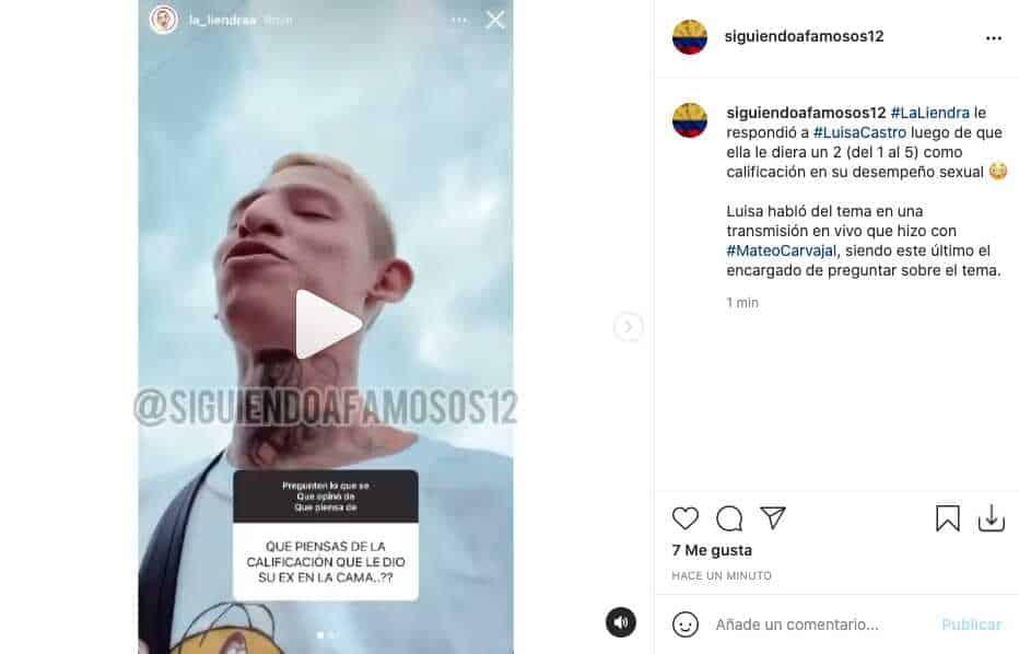 La Liendra le respondió a Luisa Castro tras calificar su desempeño sexual