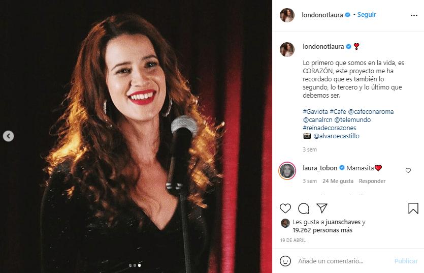Laura Londono canto