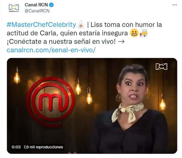 Liss Pereira habla de Carla Giraldo