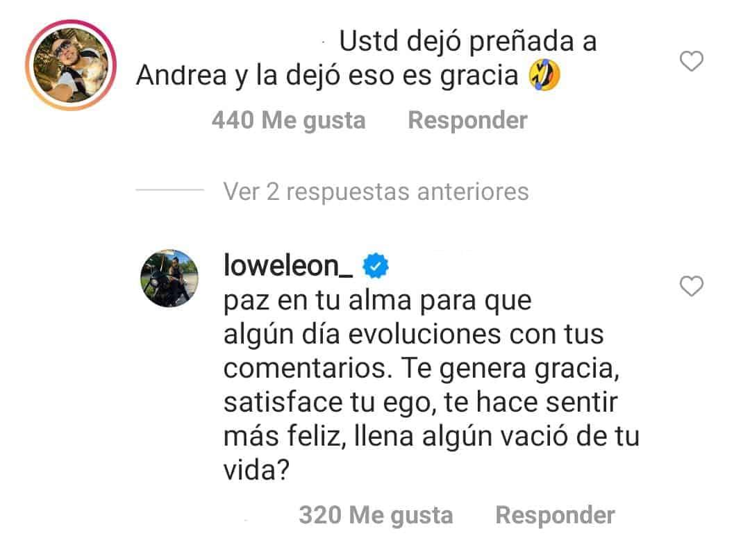 lowe leon responde a critica