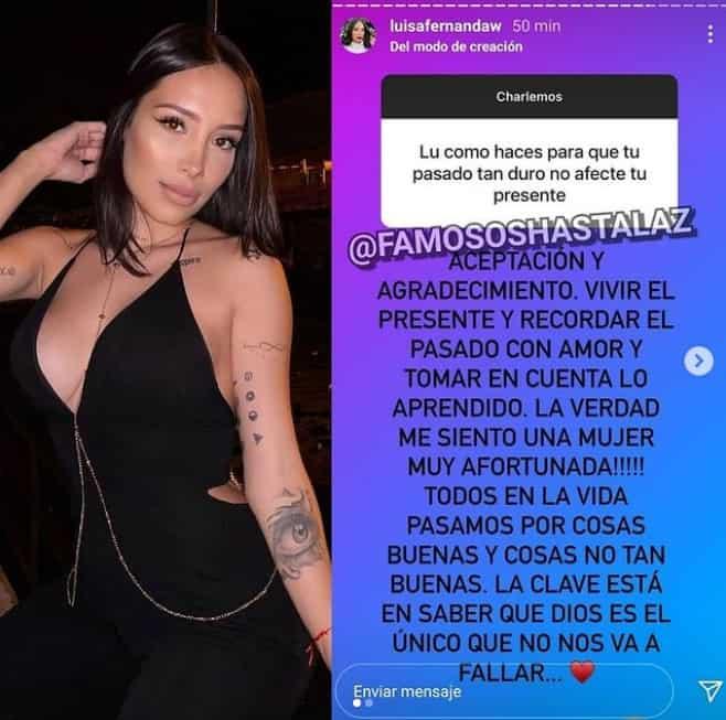 Luisa Fernanda W habla de su pasado y presente