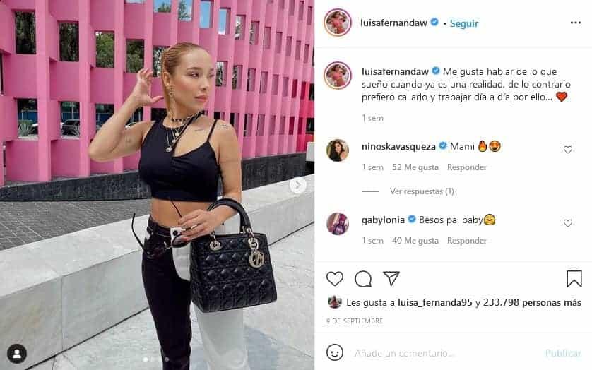 Luisa Fernanda W y sus tatuajes